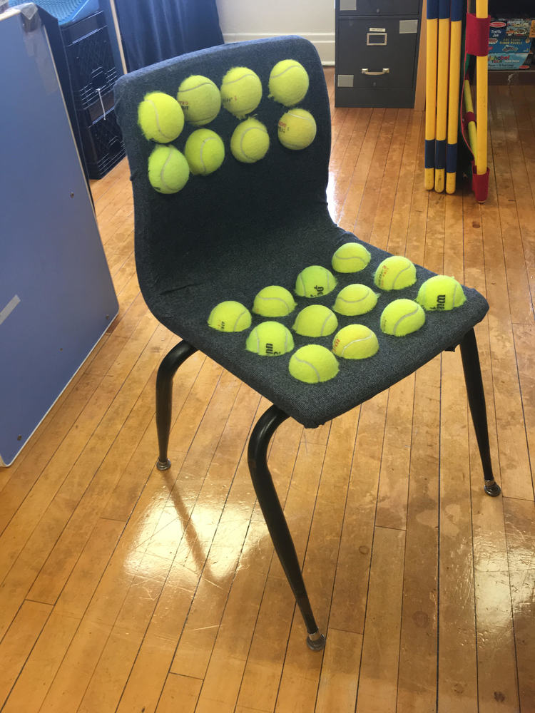 Tennis Ball- Sensory Chair